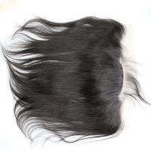 Buy cheap Cabello humano recto frontal de la Virgen del cierre 13x4 del pelo del cordón brasileño del cierre from wholesalers