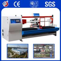 China Copper Alloy Resistant Shock / Absorption Jumbo Roll Cutting Machine ±0.1mm Precision wholesale