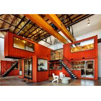 China Prefab Shipping Containers Shop / Combined Container House For Display And Exhibit wholesale