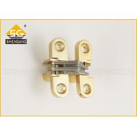 Buy cheap Soss Cabinet Metal Folding Door Hardware Zinc Alloy Hinge 180 Degree from wholesalers