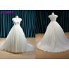 China Ivory Plus Size Princess Wedding Gown , Party Maxi Cap Sleeve Princess Wedding Dresses wholesale
