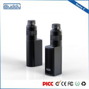 China Sample E Cigarette Box Mod Vaporizer Kits For Vaping , Popular Electronic Cigarette Box Mod wholesale