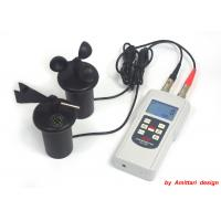 China Hand Held Wind Anemometer For Air Velocities , Wind Speeds , Temperature wholesale