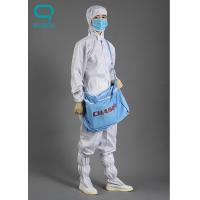 China ISO14001 Certificated Customized ESD Cleanroom Shoes ESD Fabric For Unisex on sale