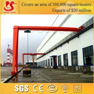 China 20 Ton BMH Model Electric Hoist semi gantry crane design wholesale