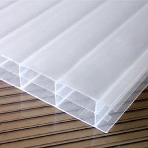 China Triple-Wall Opal White Polycarbonate Hollow Sheet (JFL-0083) wholesale