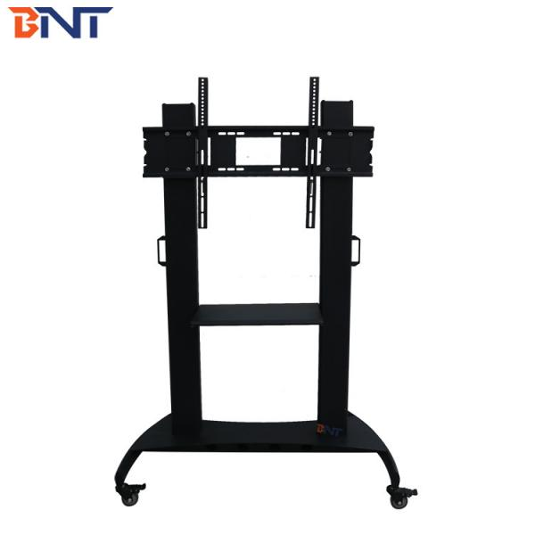 Quality available video conference single screen floor stand mobile cart 160cm production height BNT-T100 for sale