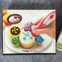 China DIY Kitchen Baking Tools Electric Frosting Deco Pen For Chocolate Sauce wholesale