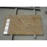 China Kashmir Gold Granite Floor Tiles Granite Stone Slabs Indoor Cutting Size wholesale