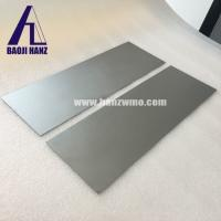 China Tungsten plate with high purity for high temperature shield use wholesale