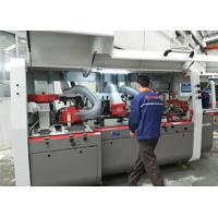 High Efficiency Multiple Rip Saw /  Four Cutter Shafts And Two Saw Shafts 4 Sided Planer Moulder