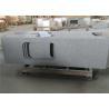 China Sesame White Granite Countertops , Durable Prefab Granite Kitchen Countertops wholesale