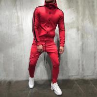 China Custom Autumn Fashion Mens Tracksuit Set / Sportswear Hoodies Set for Men wholesale