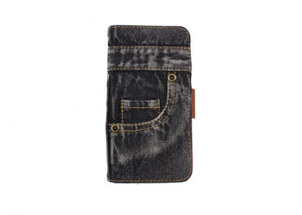 Quality Back Pocket Jean Phone Case Custom Made Matting Surface Good Flexibility for sale