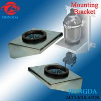 China hydraulic accumulator wall mounting bracket with rubber support ring wholesale