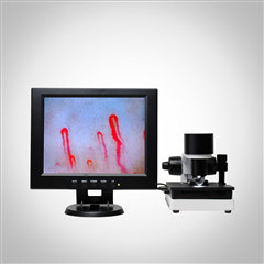 Quality LCD Display Health Analyzer Machine Clinical Blood Analysis Microcirculation Microscope for sale