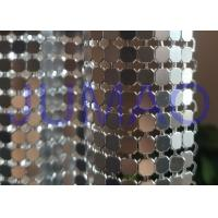 China Antique Coated Metal Sequin Fabric Easy Installation Architectural Drapery on sale