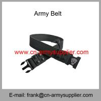 China Wholesale Cheap China Military PP Saudi Arabia Army Plastic Buckle Police Belt wholesale