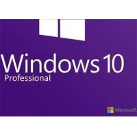 China Valid Windows 10 Pro Product Key 64 Bit , Windows System Builder 100% Unused wholesale