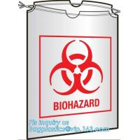 China Large Drawstring Biohazardous Waste Bags, Nice printing red incinerate waste bag, Biohazard Bags Medical Waste Bags with on sale