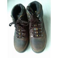 China Brown Anti - Hit Comfortable Safety Shoes With Steel Head wholesale