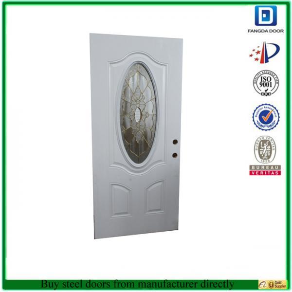 Insulated steel door images for 15 lite door insert