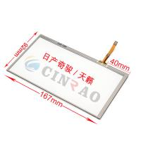 China 167*92MM LCD Digitizer Nissan X - Trail Teana Touch Screen For Car Replacement Parts on sale
