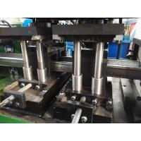 China Cold Steel Strip Profile Z C Channel Roll Forming Machine With Punching Device wholesale