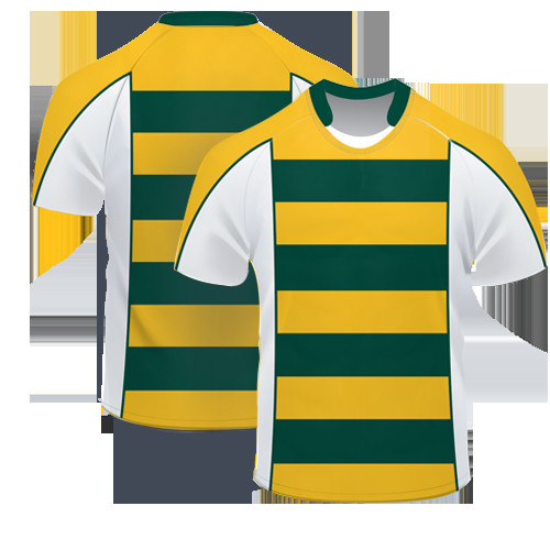 Quality Wholesale custom design rugby short sleeves jersey / germany rugby jersey / rugby practice jersey for sale