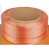 China ASTM B111 C44300 , C68700 Brass Tube For Condenser And Cooling Application wholesale
