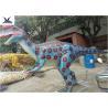 China Indoor Display Giant Dinosaur Statue Mechanical Animatronic Realistic Dinosaurs wholesale