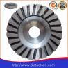 China Light Weight 100-180mm Turbo Diamond Grinding Wheels With Aluminium Core wholesale