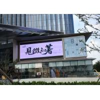 China Advertising Led Screen Sign Board Outdoor Waterproof P10 Front Service 1/2 Scan wholesale