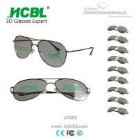 China 0.72mm TAC Lens Polarized Glasses 3D Eyewear With Metal Frame wholesale