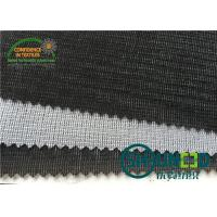 Warp And Tricot Knitted Fusible Interlining Fabrics With Wet Finish Process W1110