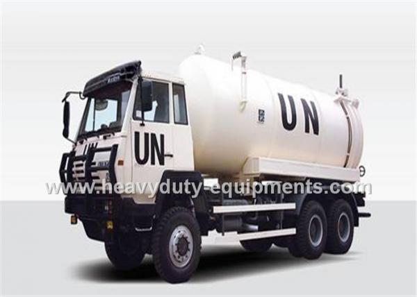 Sinotruk Suction Sewage Tank truck 6x4 Driving Type 25CBM WD615.87 ...