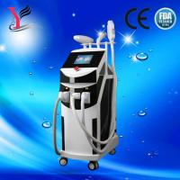 Multifunction E-light laser beauty machine for freckle removal, whiten skin, Acne skin therapy,remove tattoos