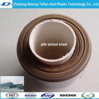 China 0.3mm, 0.5mm, 1mm Dark deep Brown color PTFE etched SHEET wholesale