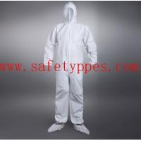China disposable chemical suit disposable protective suit asbestos overalls on sale