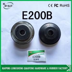 China 幼虫E200Bの予備品のための掘削機のディーゼル機関のゴム台紙 wholesale