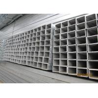 China High Strength Galvanized Steel Square Tubing , Galvanised Square Steel Posts on sale