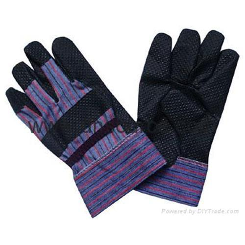 Quality Black pvc gloves(DH252) for sale