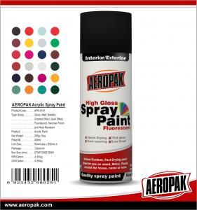 China AEROPAK China Wholesale 400ml High Quality Acrylic Spray Paint wholesale