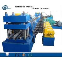 China Metal Beam Crash Barrier / Guardrail Roll Forming Machine For Expressway wholesale
