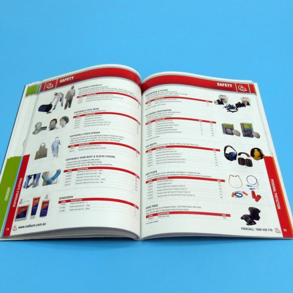 Quality High Quality Professional Catalogue Printing Service 105gsm / 128gsm / 157gsm for sale