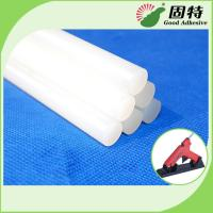 China EVA resin  Based White and semi-transparent  Solid Hot Melt Industrial Glue Sticks Light White Semi Transparent on sale