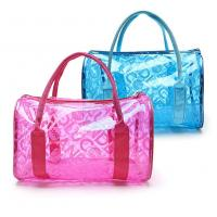 China Fashion Design PVC Cosmetic Bag 0.3mm Thickness For Waterproof Storaging wholesale