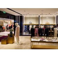 High End Clothing Store Display Fixtures With Hanging Rack Decoration Design