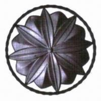 China Blacksmithing Flower Panel Component, Suitable for Gates, Fences Window Grill and Inside Walls wholesale