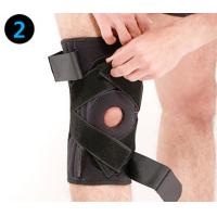 China Sports Tied Knee Leg Support Brace / Leg Stabilizer Brace Prevent Knee Down wholesale